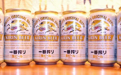 """""""キリン一番搾り生ビール350ml缶×6本/</p"""