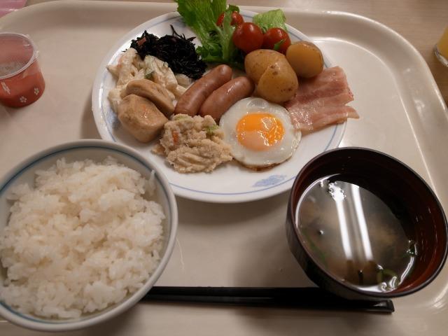 """""""朝食@ホテル浦島</p"""