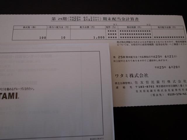 (株)ワタミ 株主優待