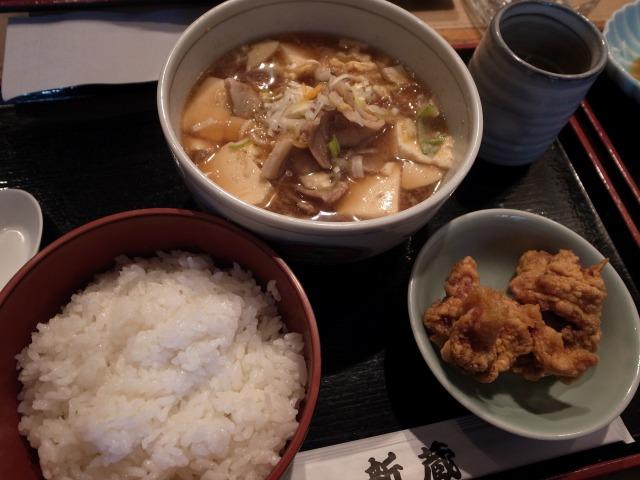 """""""肉豆腐セット@新蔵</p"""