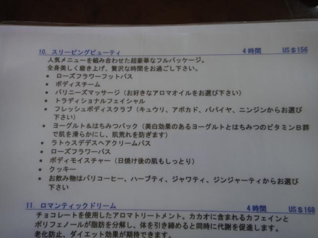 """""""スリーピングビューティー@バリ島</p"""