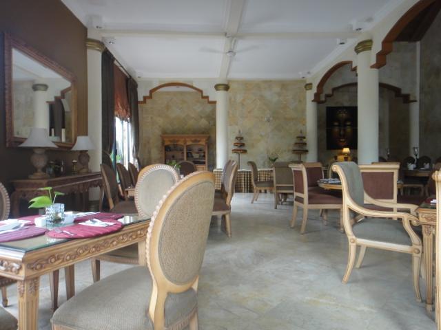 """""""レストラン@サラスワティボロブドゥールホテル</p"""