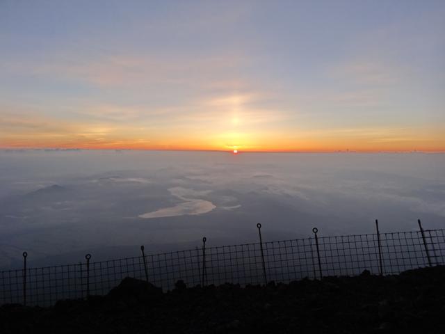 """""""富士山夜明け</p"""