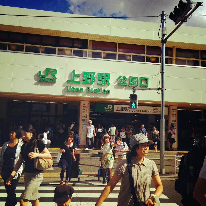 """""""原宿駅@山手線一周外回りウォーキング<br"""