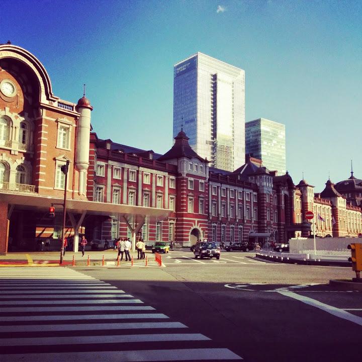 """""""東京駅@山手線一周外回りウォーキング<br"""