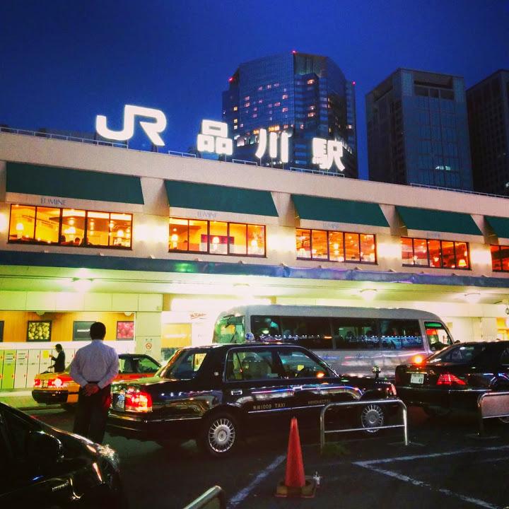 """""""品川駅@山手線一周外回りウォーキング<br"""