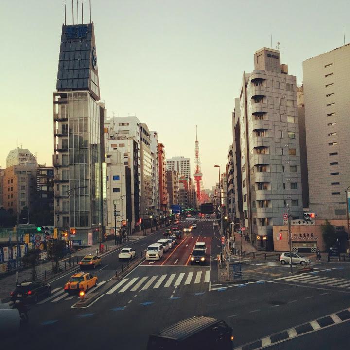 """""""東京タワー駅@山手線一周外回りウォーキング</p"""