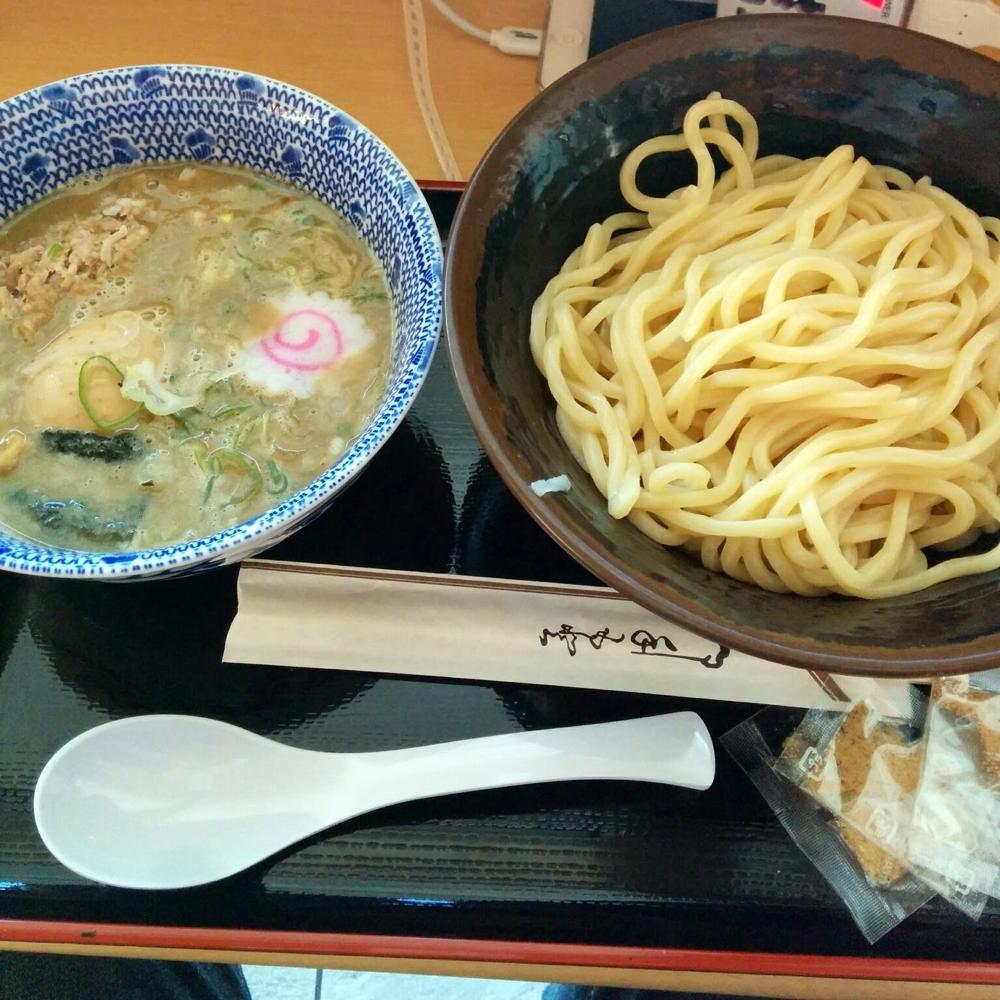 """""""六厘舎のつけ麺@羽田空港</p"""