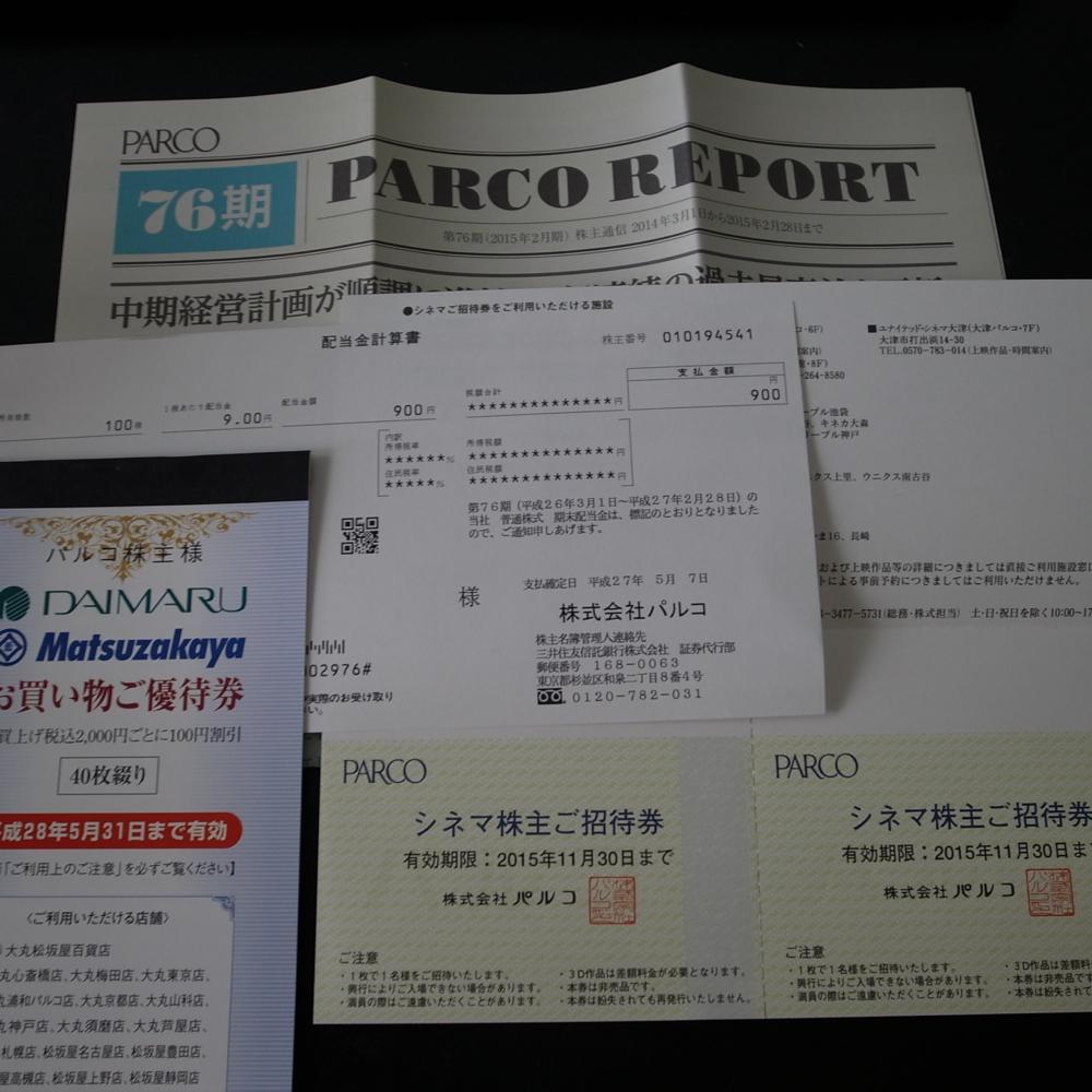 (株)パルコ