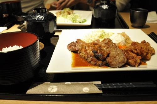 国産牛(北海道産)ステーキ膳