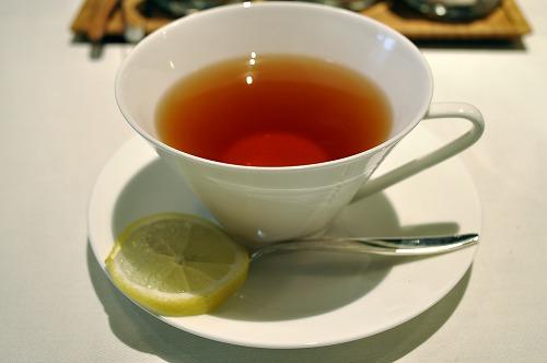 Cafe:紅茶(レモン)/</p