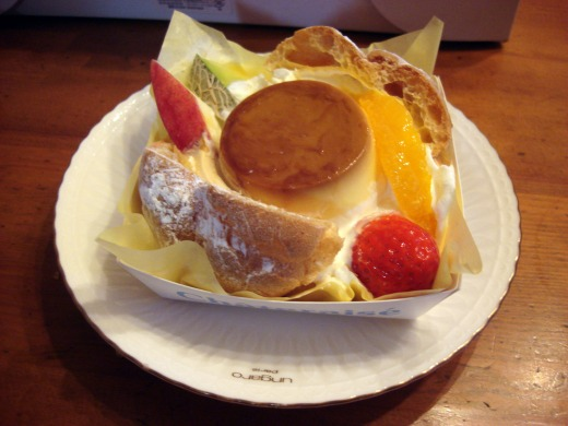 """""""豪華なケーキセット</p"""