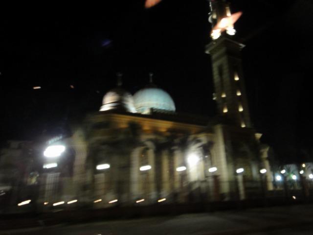 """""""モスクの夜景</p"""