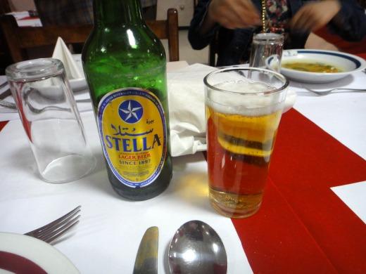 """""""STELLAビール</p"""