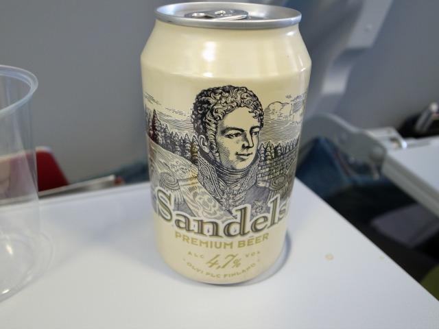 """""""フィンランドビールのSandels(サンデルス)</p"""