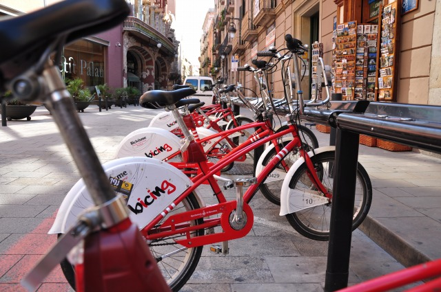 """""""年間30ユーロ払うと乗れる自転車</p"""