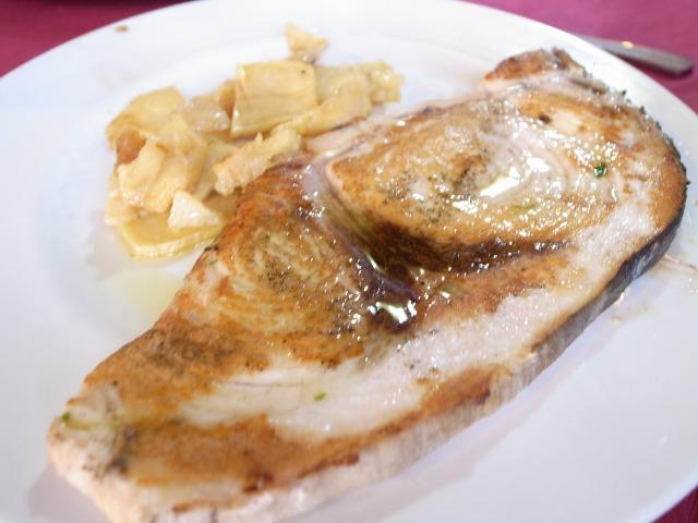"""""""魚@昼食</p"""
