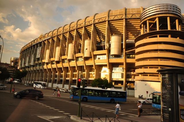 レアルマドリードのスタジアム