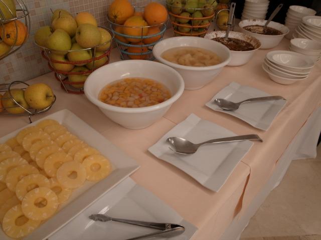 """""""AHグラナダパレスで夕食</p"""