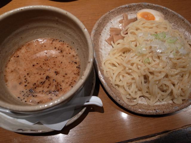 """""""豆乳ごまダレつけ麺@わたみん家</p"""