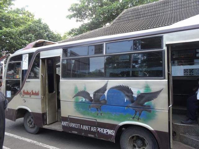 """""""バス@ジャワ島(ジョグジャカルタ)"""
