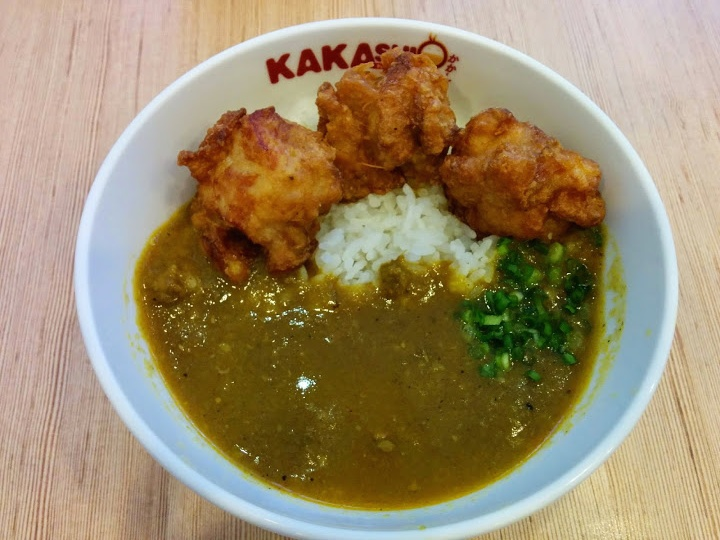 唐揚げ丼@KAKASHI(かかし)
