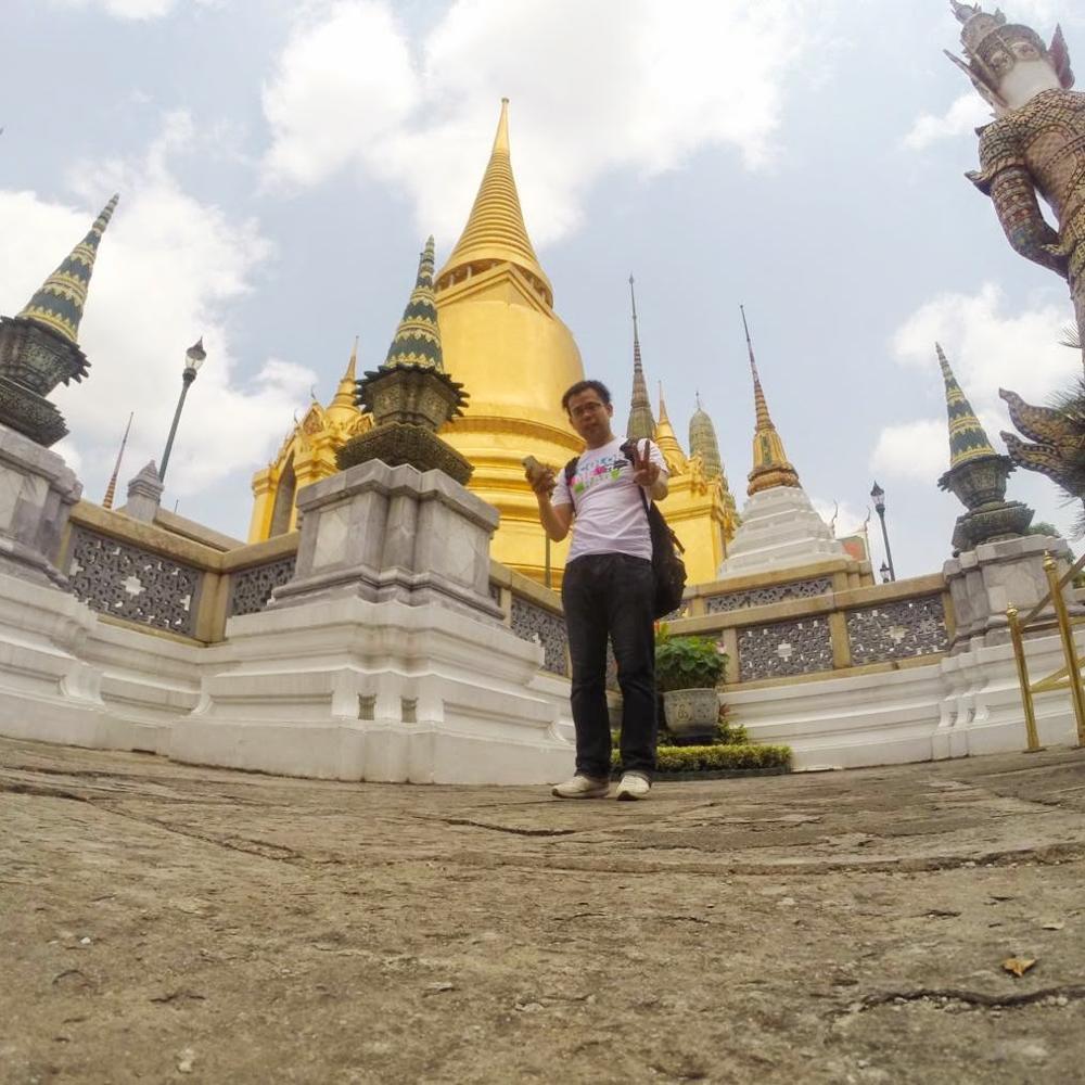王宮@タイ、バンコク</p
