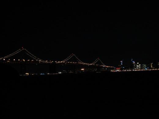 トレジャーアイランド夜景