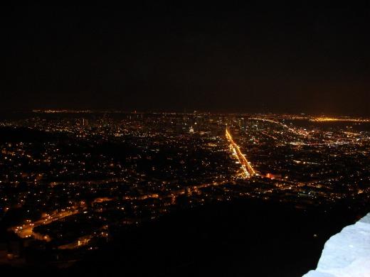 ツインピークス夜景