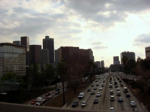 """""""ロサンゼルスの街</p"""