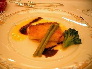 魚(タイの香草焼き)