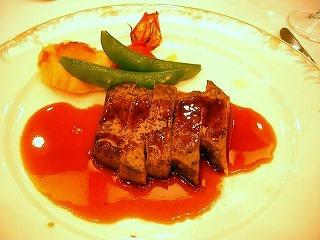 肉(フィレステーキ)